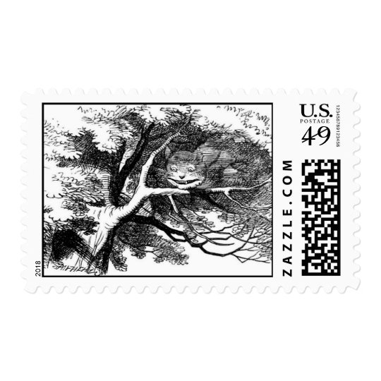 The cheshire cat postage