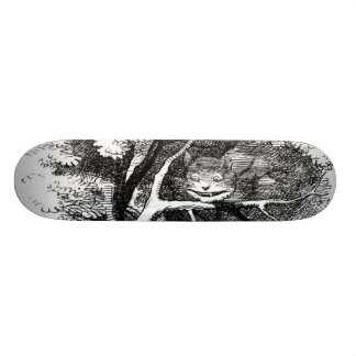 The cheshire cat skateboard deck