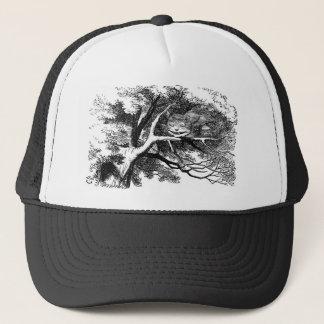 The cheshire cat trucker hat