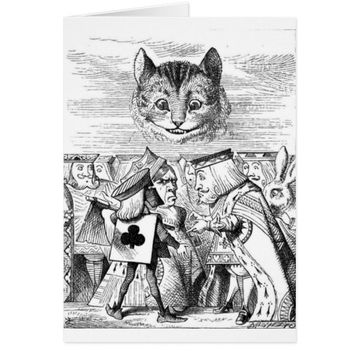 The Chesire Cat Greeting Card