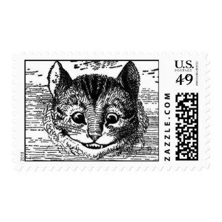 The Chesire Cat Postage