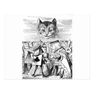 The Chesire Cat Postcard