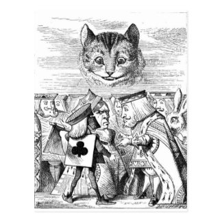 The Chesire Cat Postcard