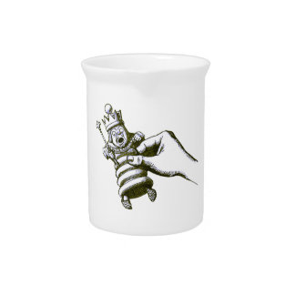 The Chess King Tenniel Beverage Pitcher