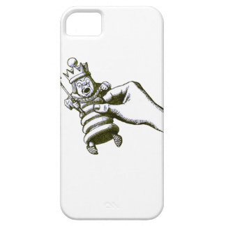 The Chess King Tenniel iPhone SE/5/5s Case