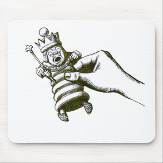 The Chess King Tenniel Mouse Pads