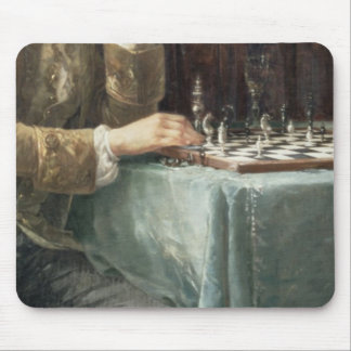 The Chess Players, 1887 Mouse Pad
