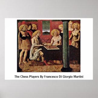 The Chess Players By Francesco Di Giorgio Martini Print