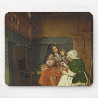 The Chess Players, c.1670 Mouse Pad
