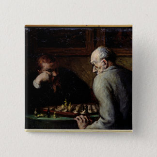 The Chess Players, c.1863-67 Button