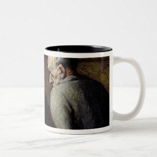 The Chess Players, c.1863-67 Two-Tone Coffee Mug