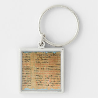 The Chester Beatty Medical Papyrus Keychain