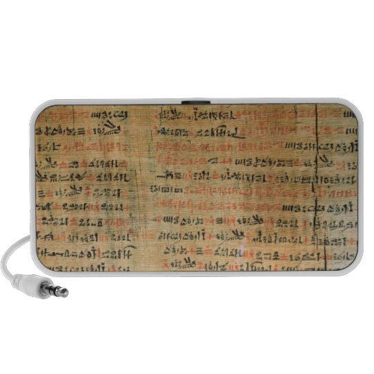 The Chester Beatty Medical Papyrus Portable Speaker