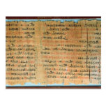 The Chester Beatty Medical Papyrus Postcard