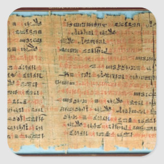 The Chester Beatty Medical Papyrus Square Sticker