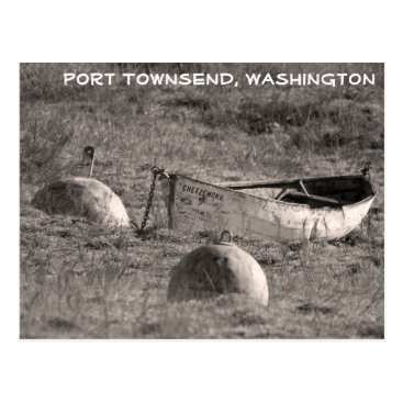 Beach Themed The Chetzemoka - Fort Worden Postcard