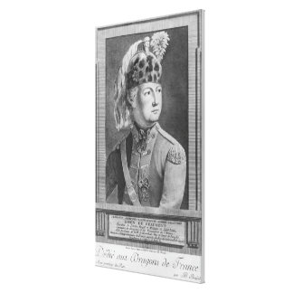 The Chevalier d'Eon as a Dragoon, 1779 Canvas Print