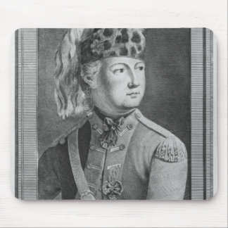 The Chevalier d'Eon as a Dragoon, 1779 Mouse Pad
