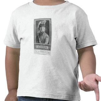 The Chevalier d'Eon as a Dragoon, 1779 T-shirts