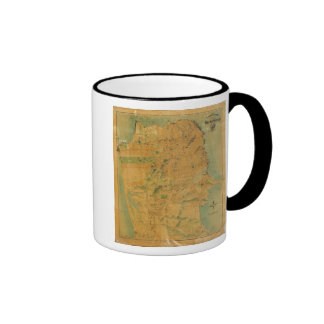 The Chevalier  Map of San Francisco Coffee Mug