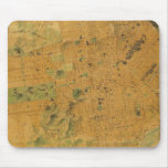 The Chevalier  Map of San Francisco Mousepads