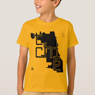The CHI Map Kids' Gear T-Shirt