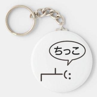 The chi tsu it is dense - This Crap Basic Round Button Keychain