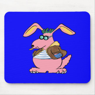 The chi yo it is, the bad rabbit mouse pad