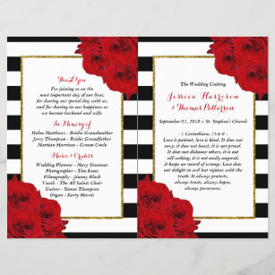 The Chic Modern Luxe Wedding Collection- Red Roses