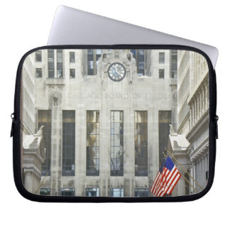 'The Chicago Board of Trade, Chicago, Illinois' Laptop Sleeve