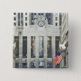 'The Chicago Board of Trade, Chicago, Illinois' Pinback Button