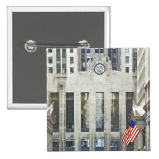 'The Chicago Board of Trade, Chicago, Illinois' Pinback Button