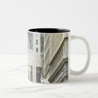 'The Chicago Board of Trade, Chicago, Illinois' Two-Tone Coffee Mug