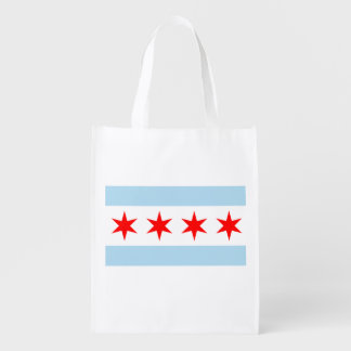 The Chicago Flag Market Totes