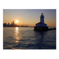 The Chicago Lighthouse Postcard at Zazzle