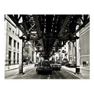 The Chicago Loop Postcard