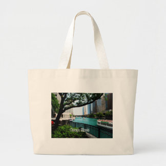 The Chicago River Front Tote Bag