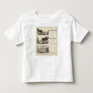 The Chicago Scraper and Ditcher Toddler T-shirt