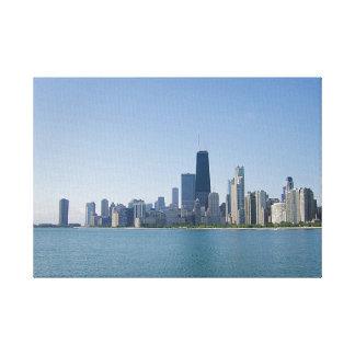The Chicago Skyline Canvas Print