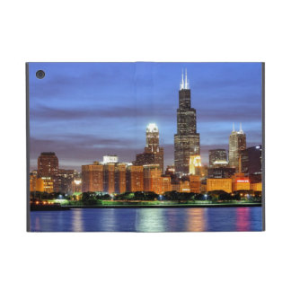 The Chicago skyline from the Adler Planetarium Cases For iPad Mini