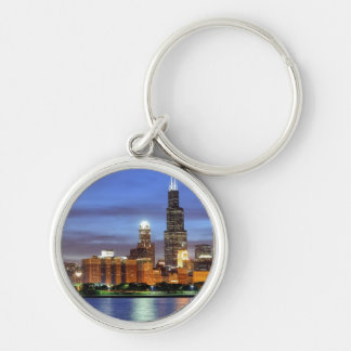 The Chicago skyline from the Adler Planetarium Keychains