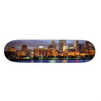 The Chicago skyline from the Adler Planetarium Skate Deck