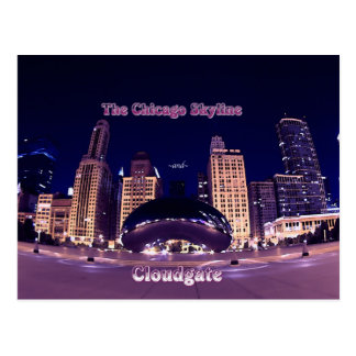 The Chicago Skyline Post Card