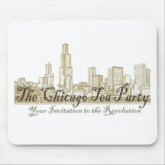 The Chicago Tea Party Mouse Pad