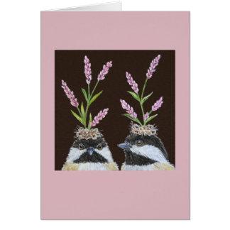 The Chickadee Sisters card