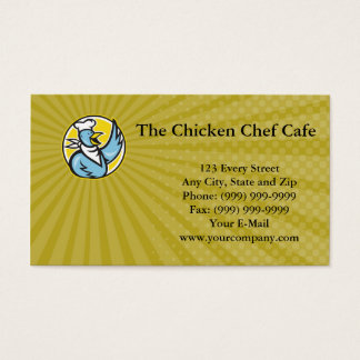 The Chicken Chef Cafe Business card