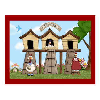 The Chicken Coop Post Card
