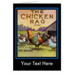 The Chicken Rag Greeting Cards