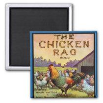 The Chicken Rag Magnet