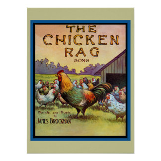 The Chicken Rag Poster